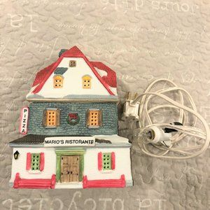 Dickensvale Lemax Christmas Lighted House Mario's